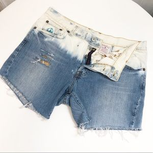 HP✨Lucky Brand Upcycled Button Fly Jean Short